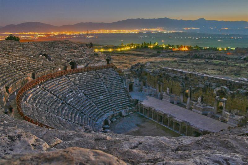 hierapolis teater senja