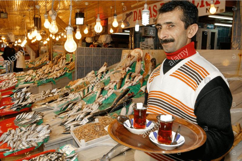 suguhan teh di grand bazaar