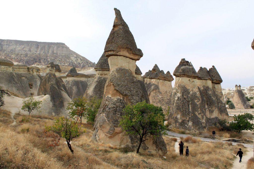 Pasabag Valley Terkenal Akan Gugusan Batunya Yang Berbentuk Jamur