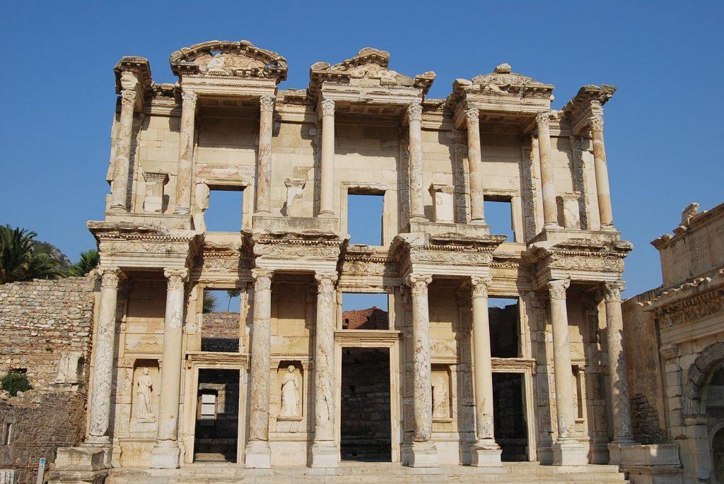 Perpustakaan Celcus, Kenangan untuk Julius Celsus Polemaeanus