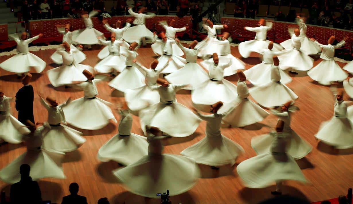 Tarian Sufi, Tarian Religius Penuh Makna Yang Berasal Dari Turki