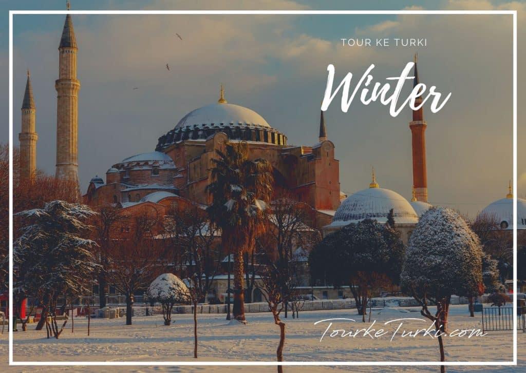 Paket Liburan Musim Dingin Winter di Turki