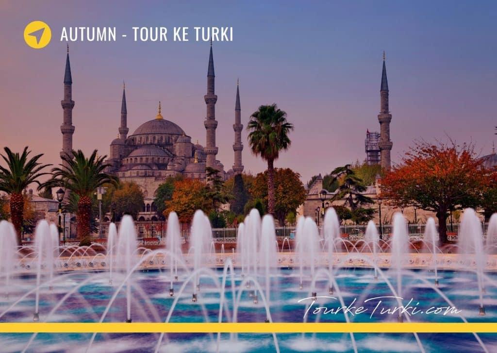 Paket Liburan Musim Gugur Autumn di Turki