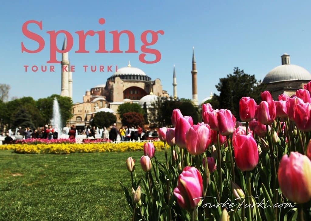 Paket Liburan Musim Semi Spring di Turki